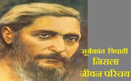 Suryakant Tripathi Nirala Biography In Hindi - सूर्यकांत त्रिपाठी निराला