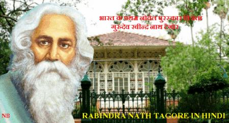 Rabindranath Tagore In Hindi - रविन्द्र नाथ टैगोर जीवनी